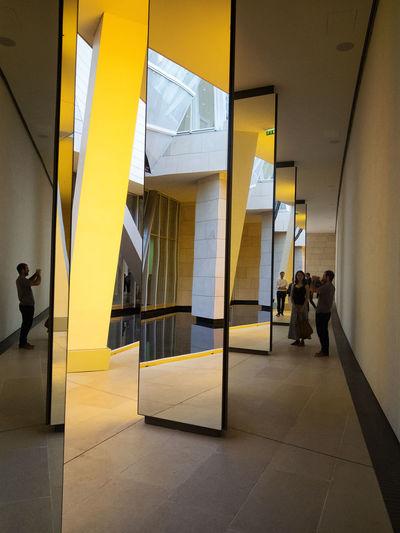 La Fondation Louis Vuitton - Grotto / Olafur Eliasson. La Fondation Louis Vuitton Paint The Town Yellow