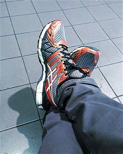 My Shoes From My Point Of View Check This Out Running Shoes Asics On My Feet Shoe Shots Asicsgelkayano Shoeselfie GEL - KAYANO 20 Asics