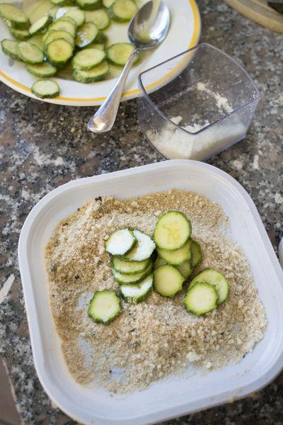 preparing zucchini au gratin Zucchini Au Gratin Baked Gratine Gratineed Preparation  Preparing Sliced