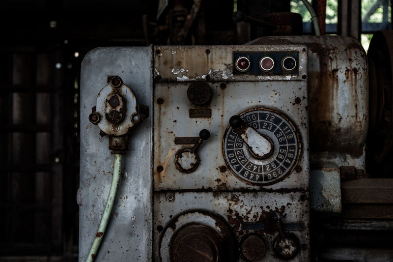 Abandoned Close-up Day Focus On Foreground Indoors  Metal No People Old Rusty Weathered