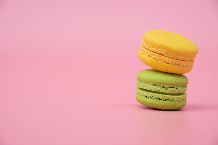 French macaroons for sweet dessert on snack for happy meal and free time Dessert Porn Colorful Food Food And Drink Indoors  Indulgence Macaroon Still Life Studio Shot Sweet Food Temptation