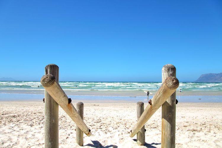 Ocean Beach Sand Sea Water Horizon Over Water Sunny Summer Blue Vacations Sky Clear Sky
