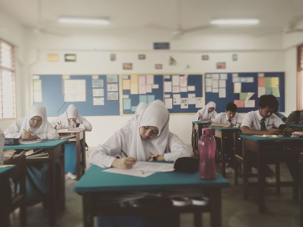 School Exam Test Struggling
