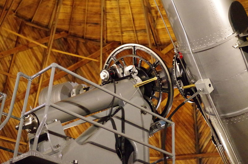 Technology that lasts Anticipation Observatory Wheel Close-up Day Engineering Indoors  Instruments No People Technology Telescope Time To Reflect Wood Interior