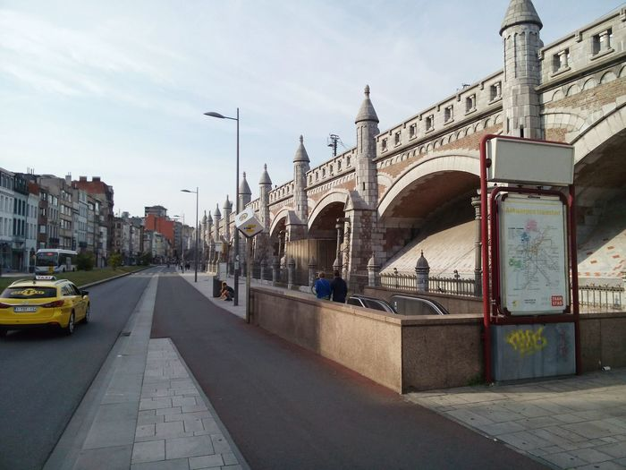 Spoordam Railway Bridge in Antwerp/Zurenborg (Belgium) City Urban Road Outdoors Bridge - Man Made Structure Travel Destinations Antwerp Zurenborg B Bridge Railway Bridge Belgium Spoordam Zurenborg 2015