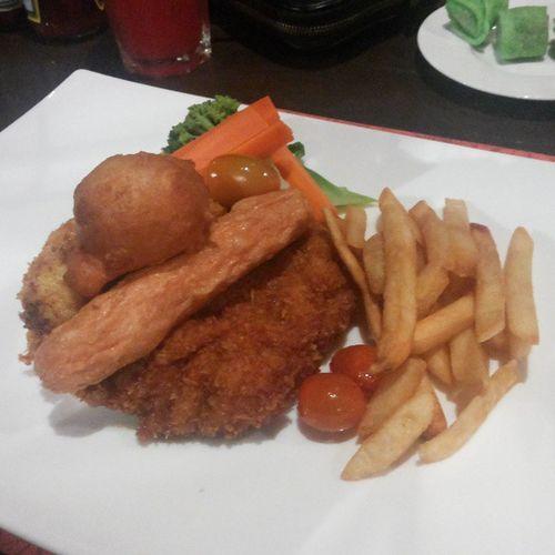 Chicken Maryland.
