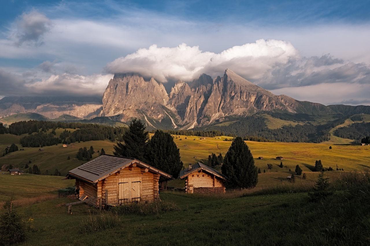 sky, mountain, cloud - sky, landscape, scenics - nature