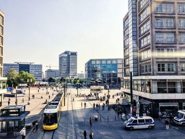 Alexanderplatz Buildings Berlin