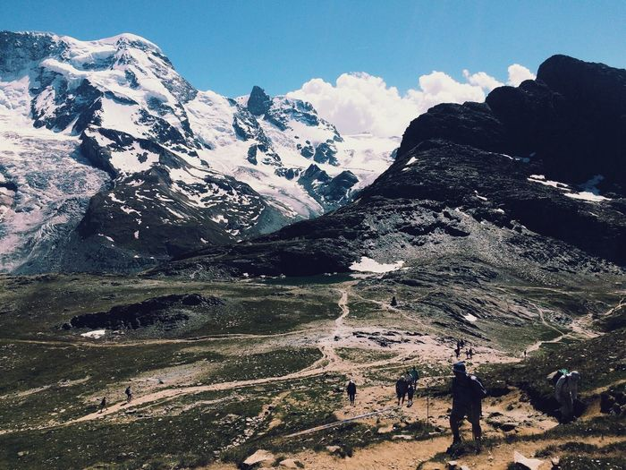 Mountains Mountain View Hiking Hiking Trail The Great Outdoors - 2016 EyeEm Awards