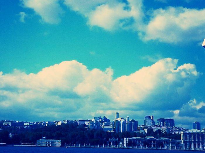 Sea Cloud Sky Summer #palace#buildings