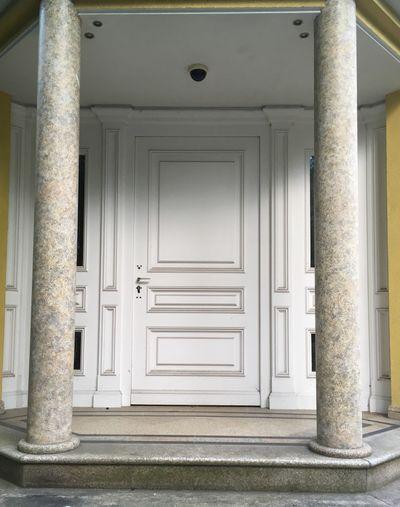 Doors in Bamberg Doors Türen EyeEm Selects Architecture Entrance Door Building Built Structure No People Closed Architectural Column House Front Door Safety Security Doorway Day