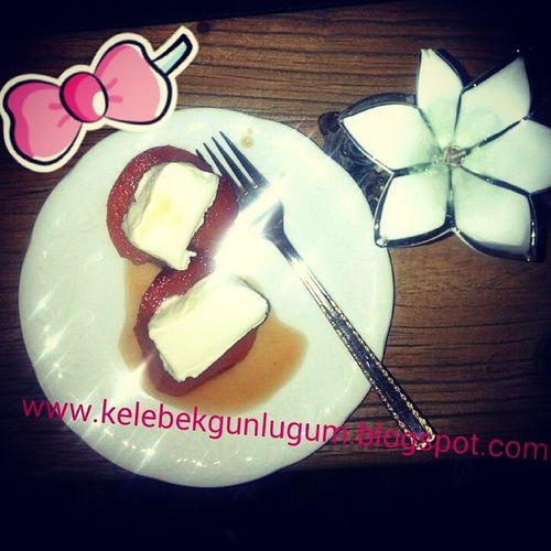 Fırın torbasında ayva tatlısı Food Foodblogger Delicious Kchichen Mykchien Tamzamanı Sağlıklı Ayva Nefis  Dondurma Icecream Instagram Instafood
