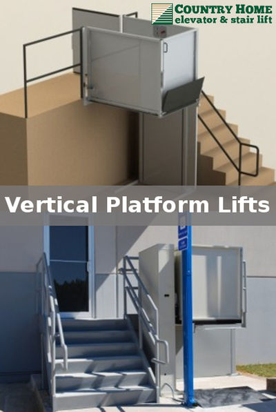 Vertical Platform lifts can be outdoor or indoor, enclosed or open, stationary or portable, for maximum flexibility. http://bit.ly/20ZxHjt Platform Lift Vertical Platform Lifts Vertical Wheelchair Lift Wheelchair Wheelchair Elevator Wheelchair Lift