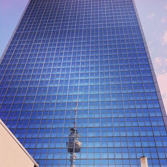Berlin Alexanderplatz Tv Tower skyscraper