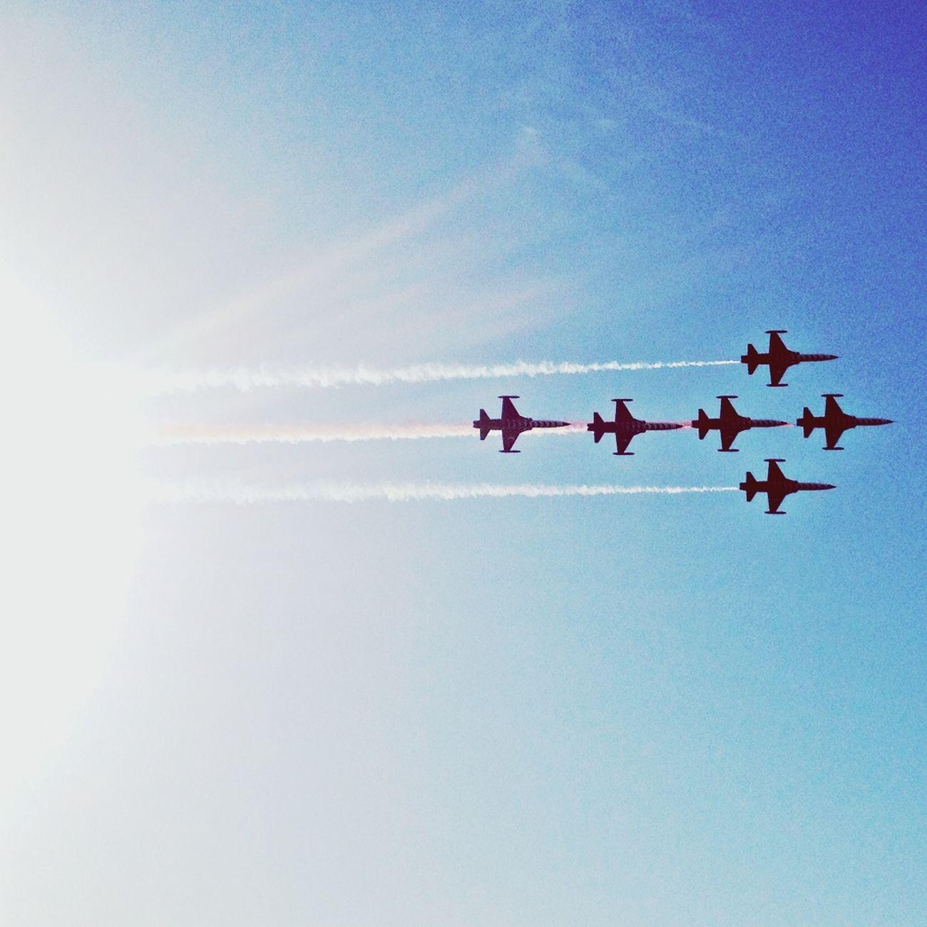 Aircraft show