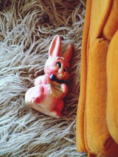 Tadaa Toy Bunny Flokati Rug
