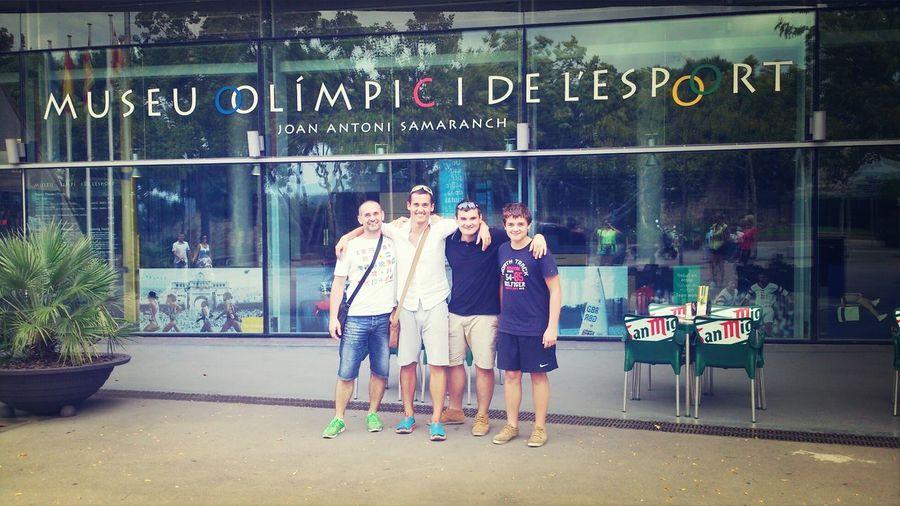 velky sportovci :-D Museu Olimpic Sport