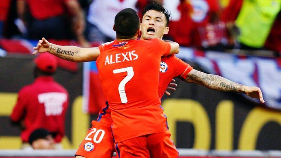 Chile Chilegram Campeones Copa100 ChilevsArgentina Hijos Marearoja AGanar Campeondeamerica