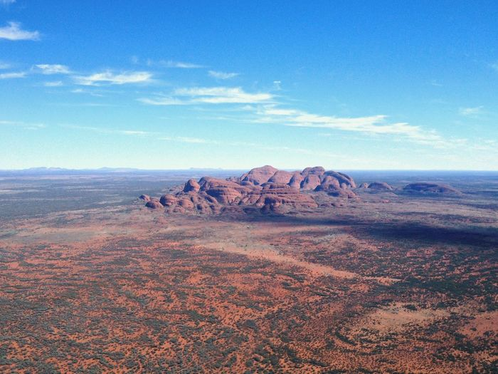 Kata Tjuta, as seen from a helicopter World Heritage EyeEmNewHere Kata Tjuta Uluru-Kata Tjuta National Park Northern Territory, Australia Australia Aerial View Helicopter View  Scenics - Nature Sky Rock Environment Landscape Beauty In Nature Rock - Object Non-urban Scene Land Nature Tranquil Scene Rock Formation Tranquility Desert Arid Climate