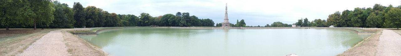 Architecture Nature Pagode Panoramic Tree Water