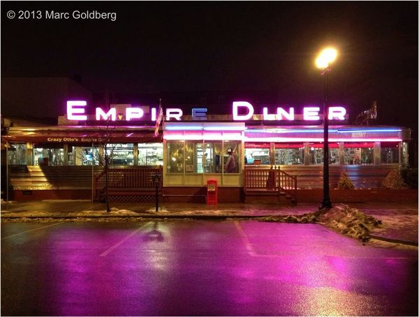 Restaurant Neon Lights Diner Neon