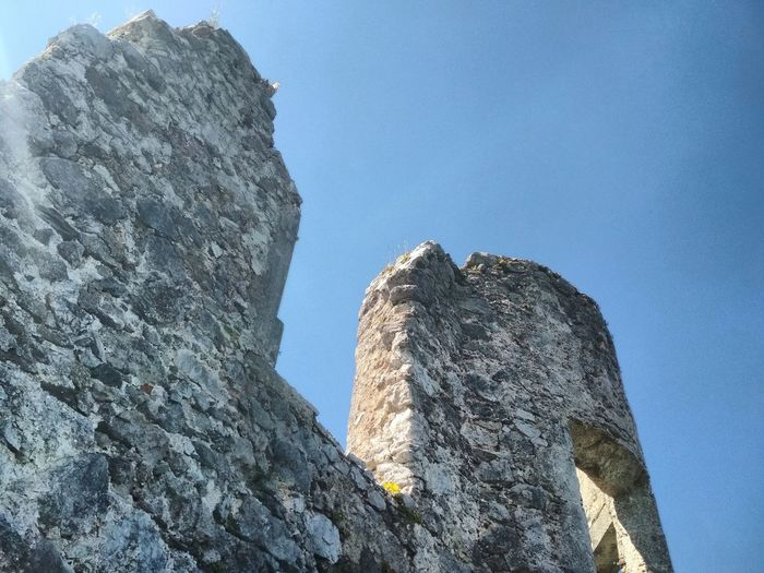 Cliff Blue Rock