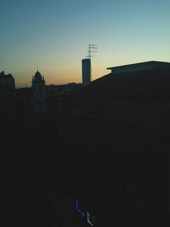 Sunset Architecture Dusk Skyscraper Sky Silhouette Urban Skyline