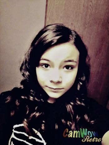 I curled my hair for cheerleading it turned out pretty good Hair Curls Love Beautiful