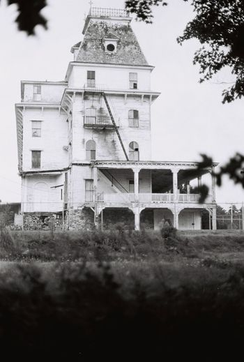 Blast from the past the old abandoned the victorian Wentworth By The Sea hotel 1999 35mm Film Alone Gothic Macabre Morbid Urban Exploring Victorian Abandoned Abandoned Buildings Architecture Blackandwhite Building Built Structure Decaying Decaying Building Film Photography History Hotel Low Angle View Old Selective Focus Tower Tree Wentworth
