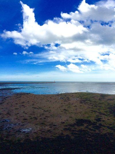 Berwick Berwickupontweed Sky Clouds And Sky Skyporn Beautiful Beach IPhoneography IPhone IPhone5