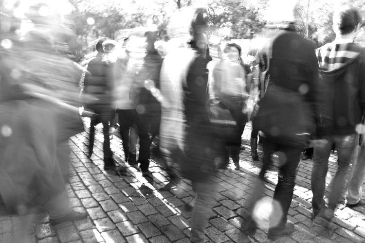 Paris People Thinking About Life Lifesgoingon Sacre Coeur 14.11.2015 Artist