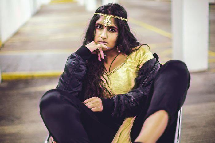 Reclaim Urban Asaingirls Indian Culture  Indofusion Women Beauty Culture Indoors  First Eyeem Photo