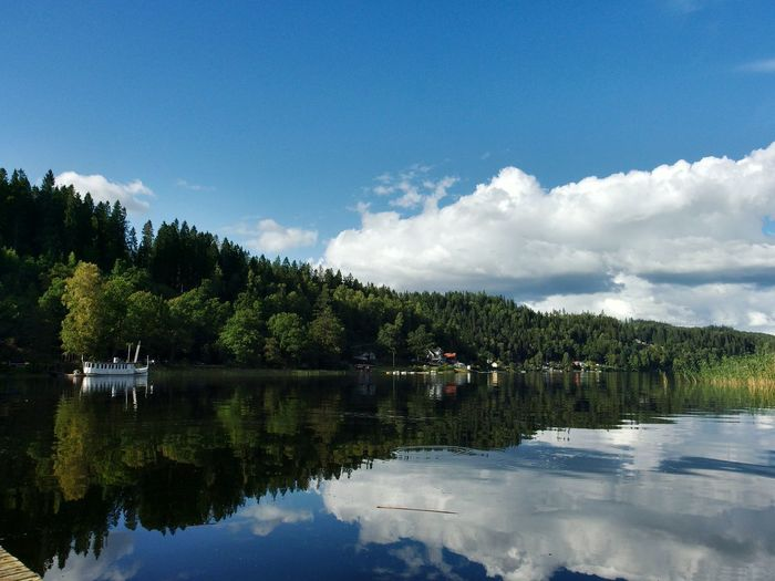 Lake Lake View Lakeside Lakeview Sweden Sweden Nature Sweden-landscape Nature Nature Photography Boat
