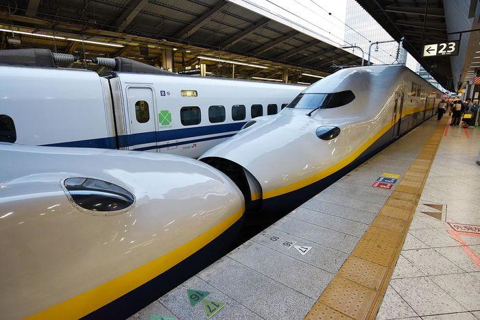 Shinkansen Bullet Train Japan Tokyo Station Tokyo Tokyo,Japan Train Train Station