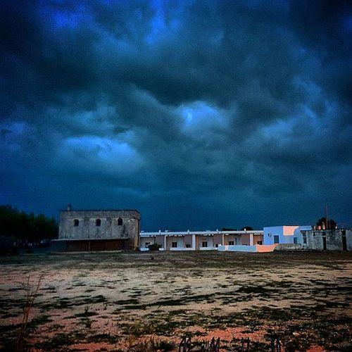 Ortelle Salento Temporale Temporali temporaliestivi cielo sky estate summer nuvole