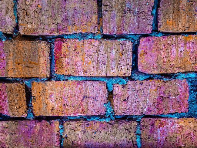 Brick Wall Brick Wall Wall Brick Colorful Cement House