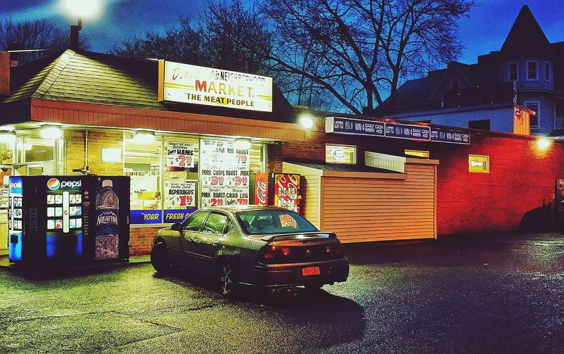 Corner Store Dominicksmeatmarket Themeatpeople Familyowned Local Store Myneighborhood Allgoodinthehood Streetphotography Night Photography Street Photography