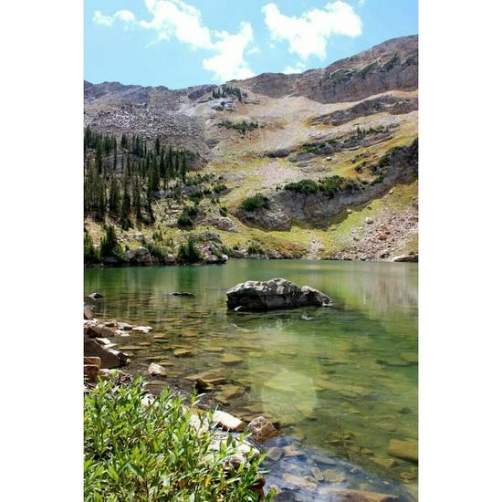 Utah Mountains Lakes  Adventure