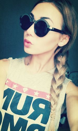 I Love My Sunglasses. On My Freaky Shit My Shirt ♥  Hanging Out