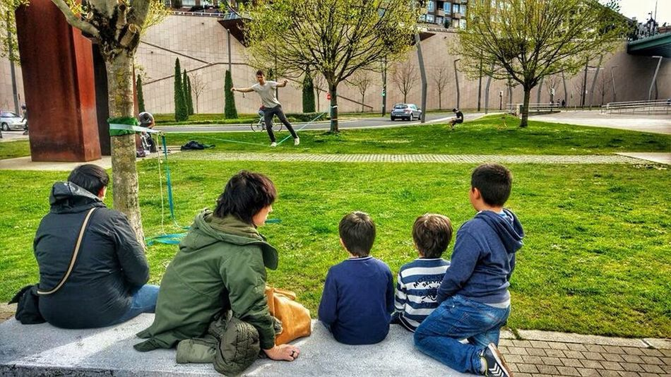 Family In The Park Family❤ My City Bilbao Happy Sunday Capture The Moment EyEm Bestseller Eyem Bestsellers