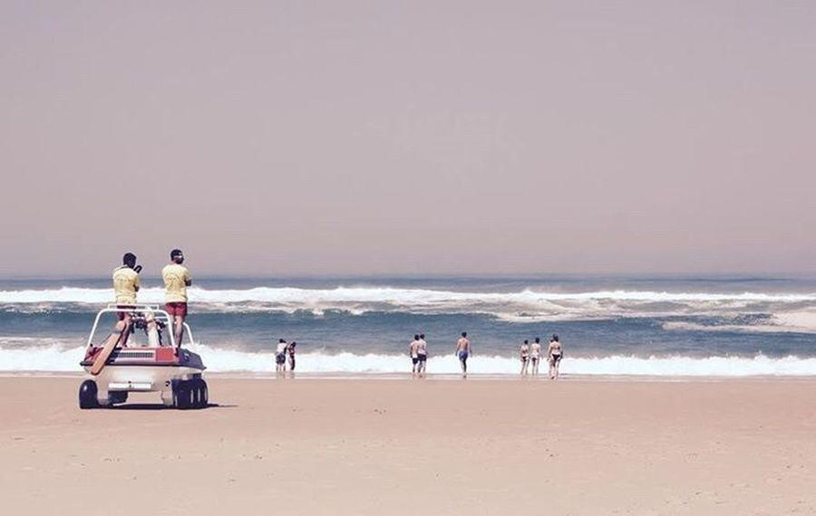 A day at the beach.... Beach Landes Landscape_photography Rescue Team Baywatch Seignosse Le Penon France EyeEm Best Shots Mac