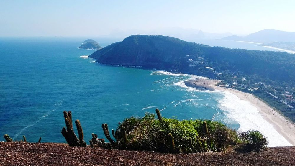 EyeEmNewHere RJ Itacoatiara Sea Beach Nature Water Outdoors Horizon Over Water Beauty In Nature Tranquility Travel Destinations Scenics No People Day Blue Sky Colour Your Horizn