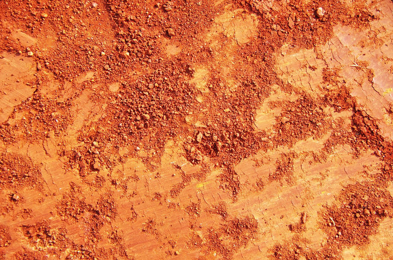 Red Soil Texture background Abstract Close-up Detail Nature Red, Soil, Texture ,background Relaxing Soi Textured