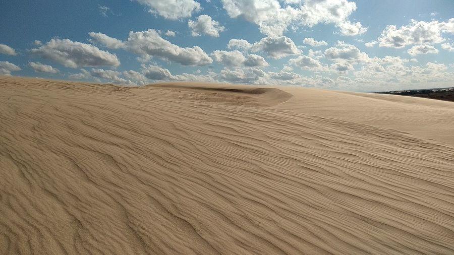 Sky and Sand Sky Sand Cumulus Cloud