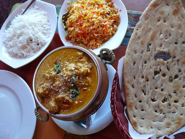 Things I Like Indian Food Basmati Saffron Rice Naanbread Food Cuisine Spicy Food Indian Dinner Ethnic Food Tandoori Foodphotography Food And Culture Culture Cultures Photography In Motion Showcase April Show Us Your Takeaway! Traveling Home For The Holidays