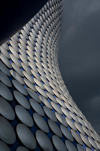 Selfridges building, Birmingham,UK. Architecture Arts Culture And Entertainment Birmingham UK Blue Close-up Day Iconic Iconic Buildings Iconic Landmark Modern No People Outdoors Pattern Sky