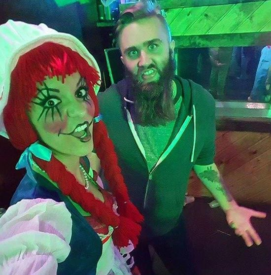 Halloween Taramae Raggetyann Redhead Adam  Shenanigans Eauclairewi Eauclaire Wisconsin Freaky