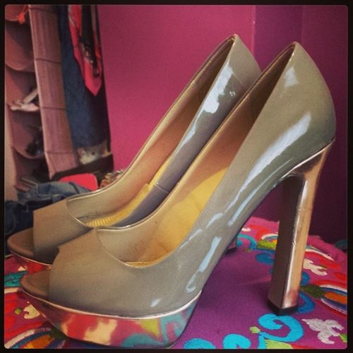 Beautiful shoes that I just don't have the space for :( Thepurge Thepain Shoes Zara