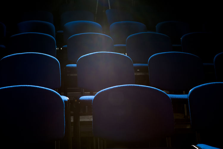 Empty Seats At Theatre
