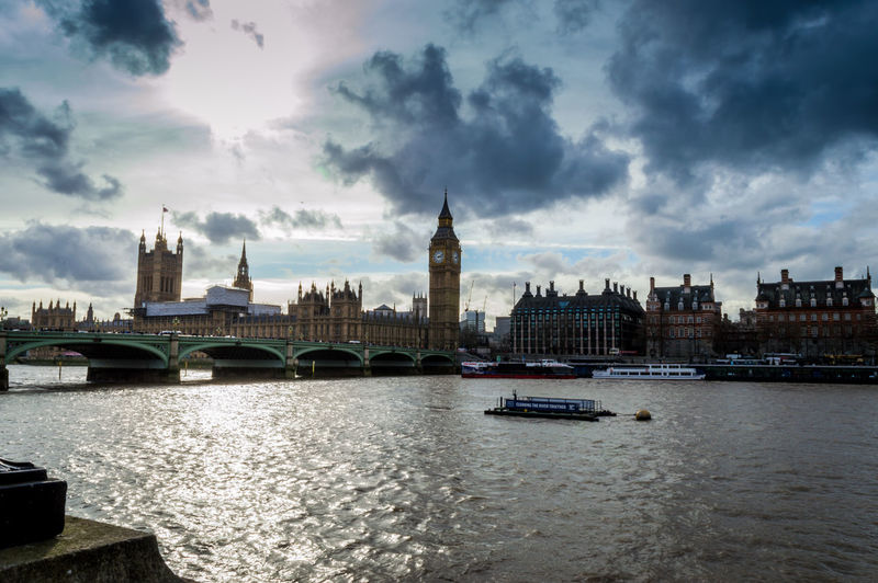 Travel Destinations City Government River Architecture Cityscape Politics And Government Urban Skyline No People Cultures Bridge - Man Made Structure Cloud - Sky Water Clock Tower Outdoors Sky Day Houses Of Parliament Big Ben London Bridge